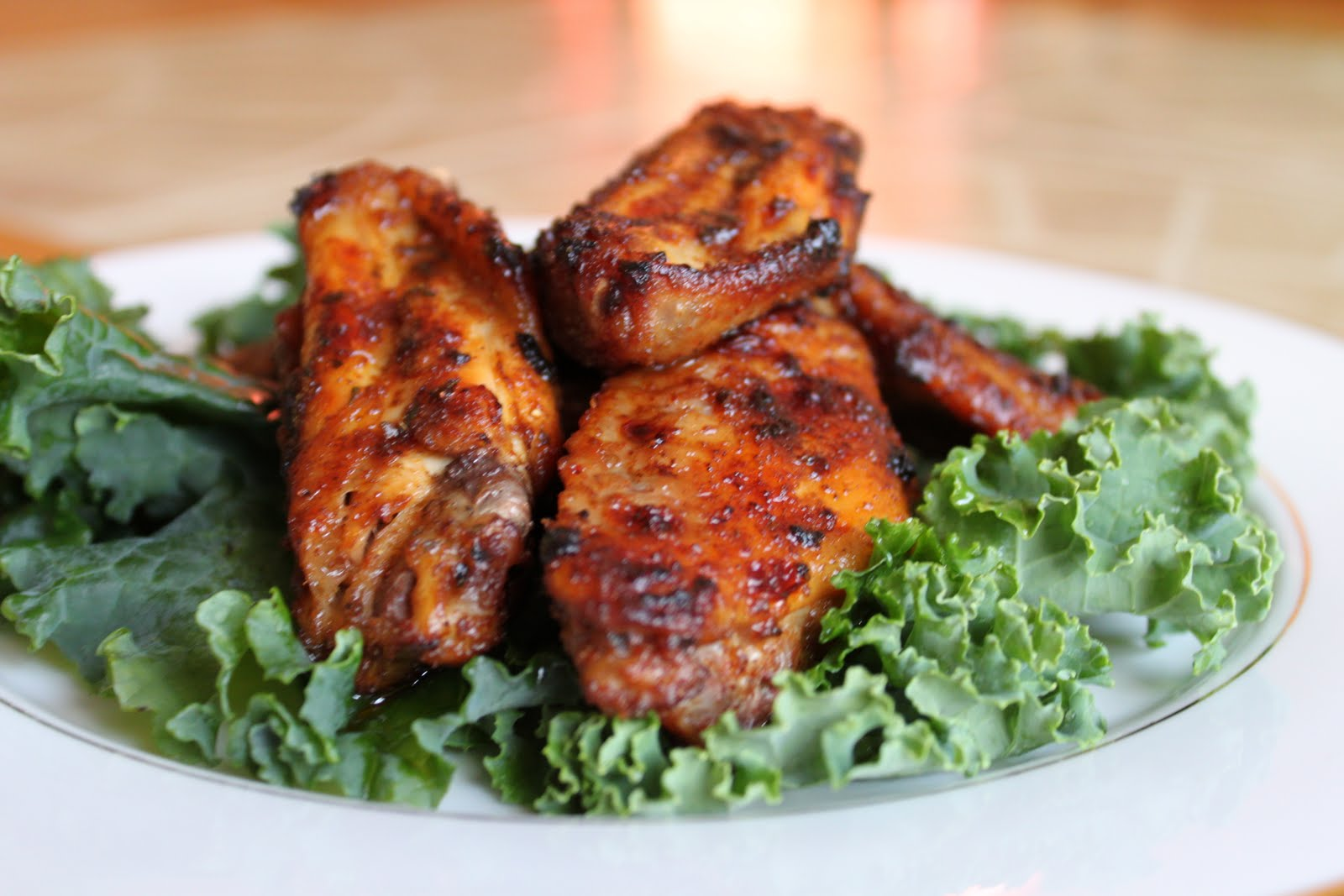 Red Hot Honey Glaze Wings