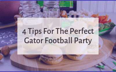 4 Tips For The Perfect Gator Football Party