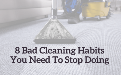 8 Bad Cleaning Habits You Need To Stop Doing