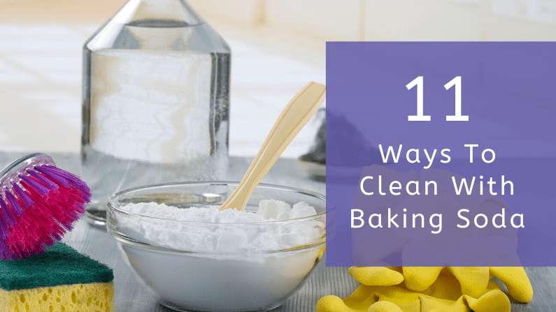 11 Ways To Clean With Baking Soda