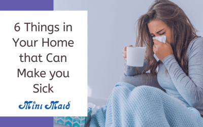 6 Things in Your Home that Can Make you Sick
