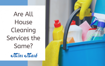 Are All House Cleaning Services the Same?