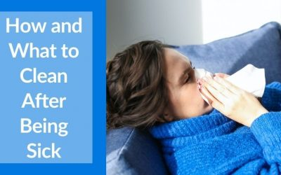 How and what to clean after being sick