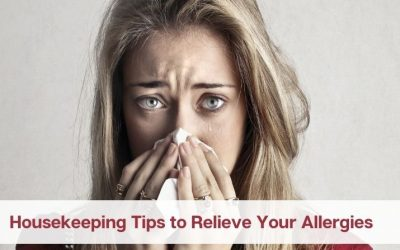 Housekeeping Tips to Relieve Your Allergies